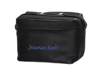 shoulder bag with a wide shoulder strap supplies the extra room for massage accessories now there is no excuse to travel without your jeanie rub - Jeanie Rub Massager