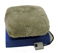 equipped with two speeds foam massager holder and genuine sheepskin pad cover standard 1year warranty - Jeanie Rub Massager