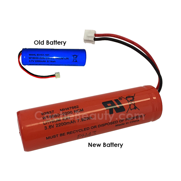 Wahl Battery 93151 101 For Sterling Eclipse Clipper
