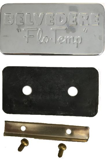 belvedere flo temp cover plate caps 5090102 444450901027 50901021