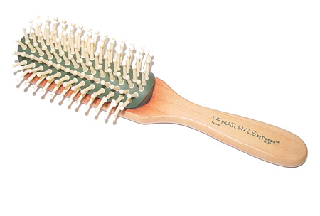 The Naturals By Comare 9 Row Thermal Wood Brush