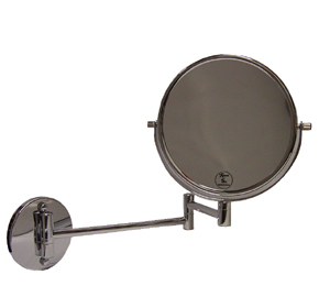 Swivel Arm Extendable Wall-Mounted Mirror