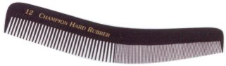 Champion Combs Hair Combs Hard Rubber Combs