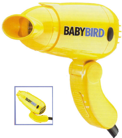 Baby bird travel dryer