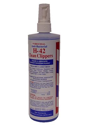 H 42 Clipper Cleaner 16 Oz Spray